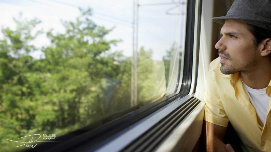 سفر با قطار از تهران به کیش