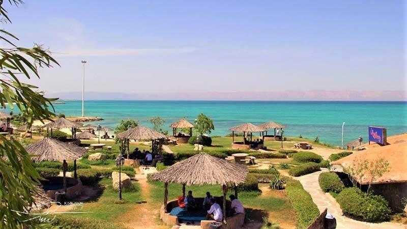 پارک ساحلی مرجان در کیش