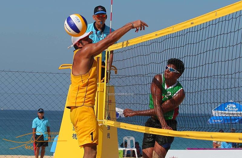 والیبال ساحلی در کیش