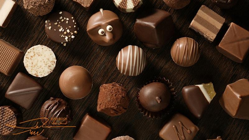 خرید شکلات در کیش