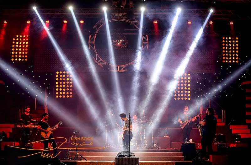 کنسرت خوانندگان خارجی در کیش