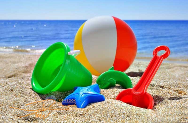 سواحل تفریحی کیش برای کودکان