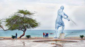 پارک ساحلی مرد ماهیگیر