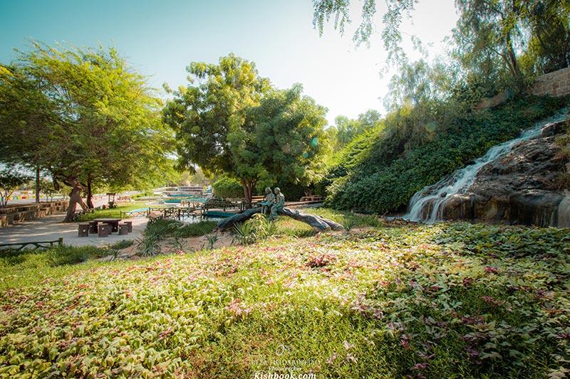پارک آبشار در جزیره کیش