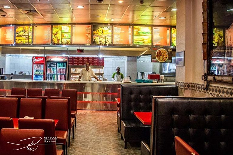 رستوران بوف پردیس در کیش