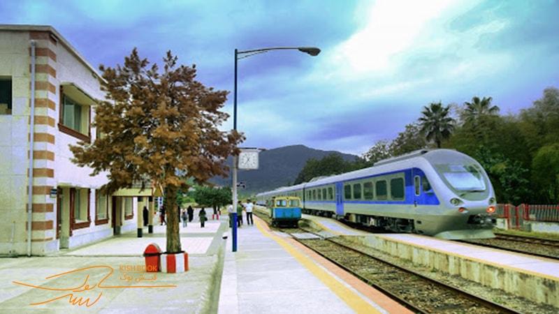 سفر به کیش با قطار