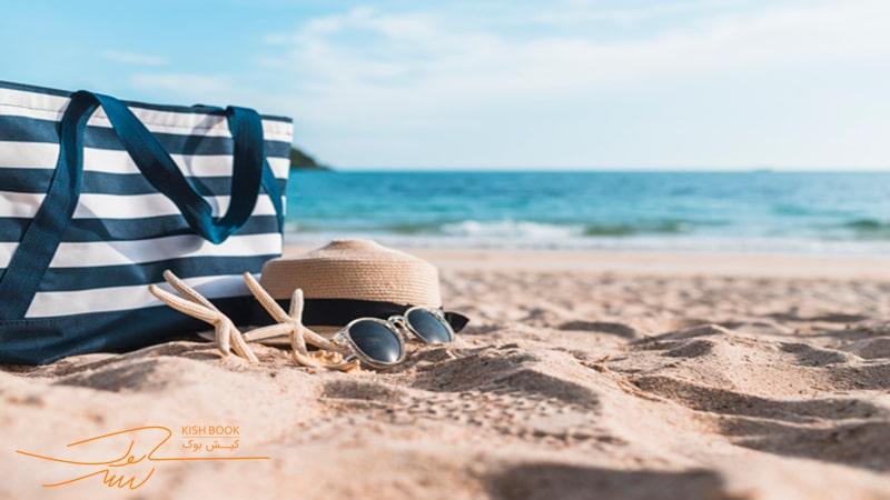 لوازم ضروری سفر کیش در تفریحات ساحلی