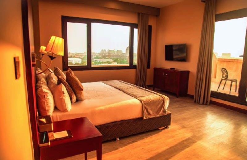 اتاق هتل میراژ