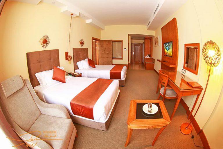 اتاق های هتل ویدا کیش