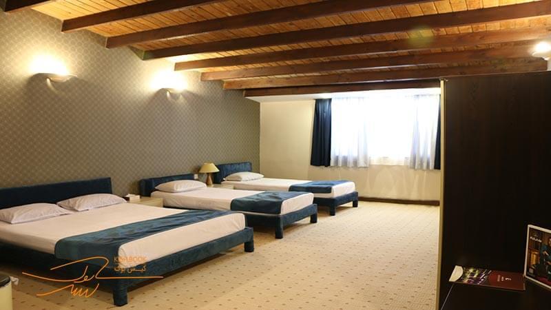 اتاق های هتل کوروش کیش