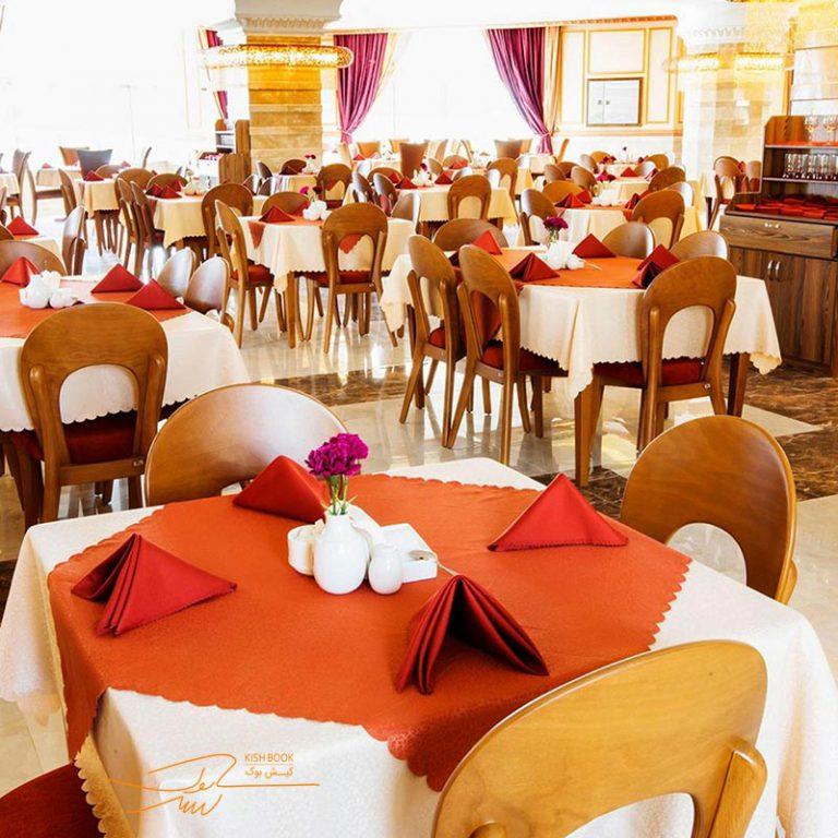 رستوران هتل ویدا کیش