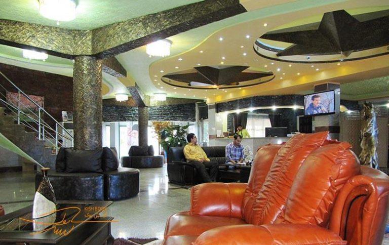 لابی هتل ستاره طلایی کیش