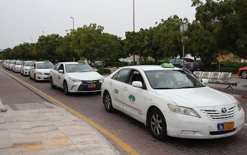 تاکسی های سفید در کیش