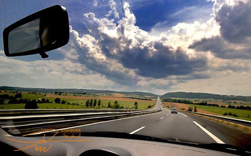 سفر به کیش با ماشین شخصی