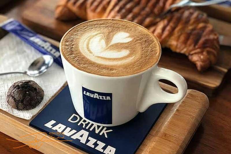کافه لاواتزا در کیش